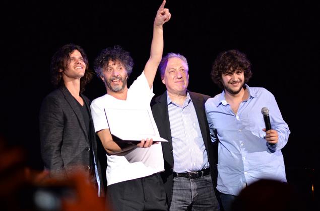Fito Páez fue premiado por el Berklee College of Music