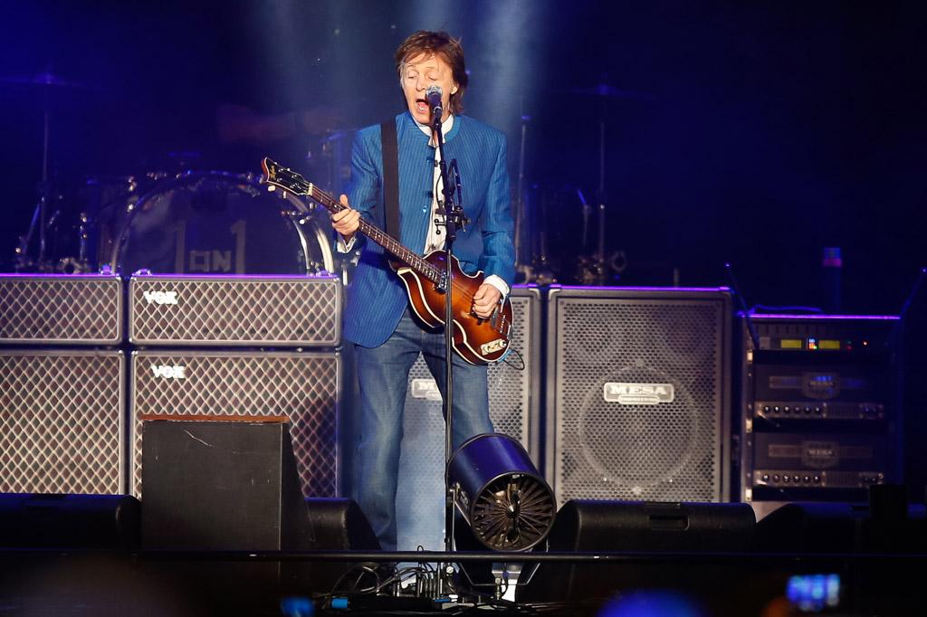 «Hola, culiados»: Paul McCartney saludó al Mario Kempes en cordobés