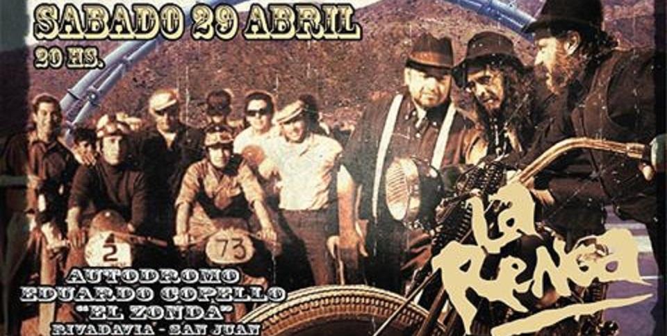 La Renga confirmó la fecha de su show en San Juan