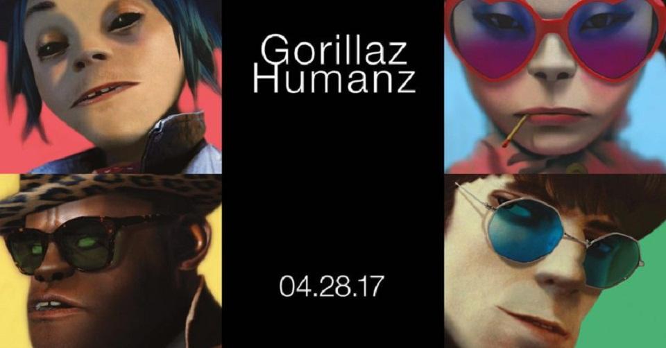 Escuchá cuatro canciones más de Gorillaz