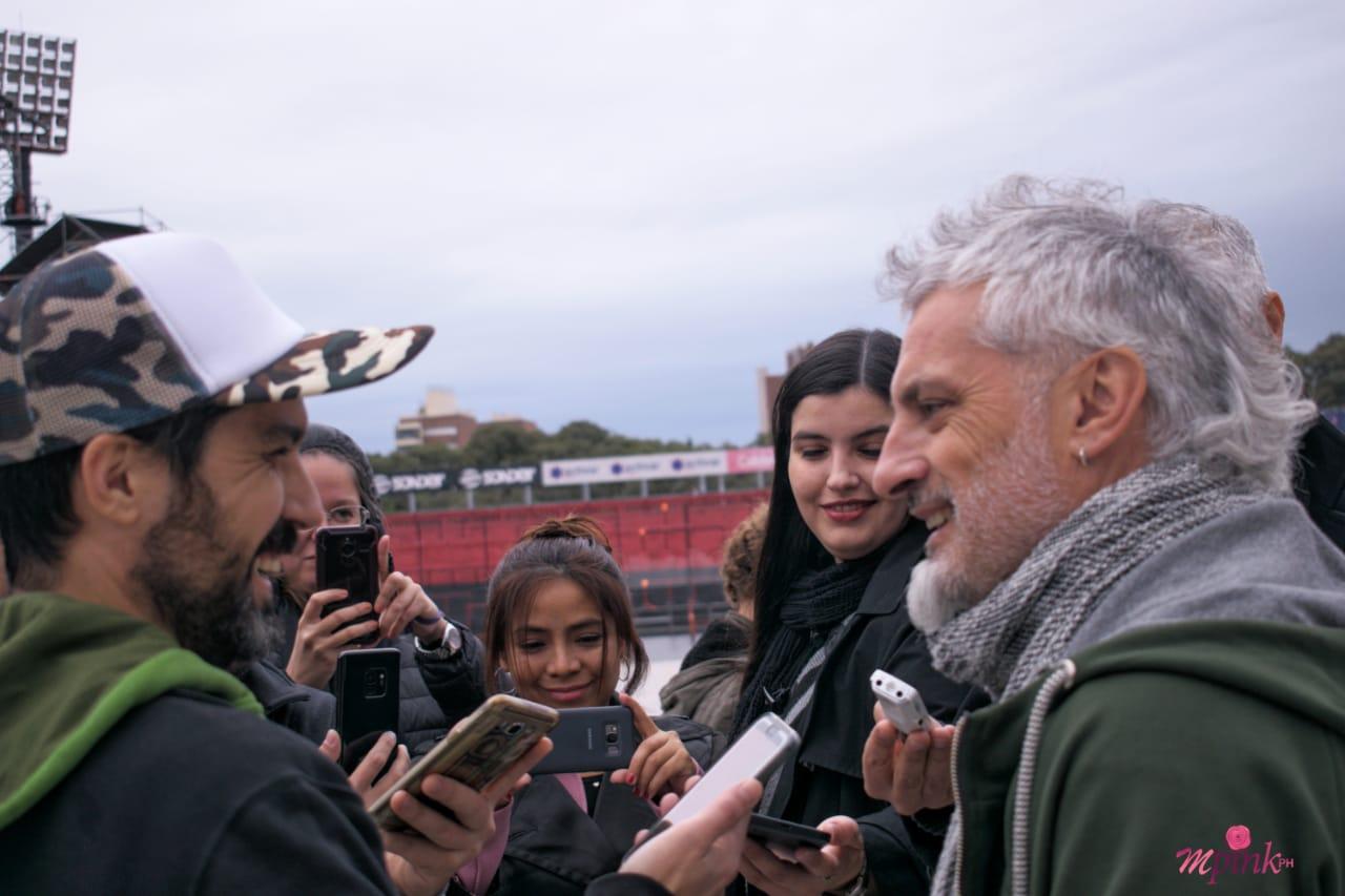 La previa de La Renga en Rosario