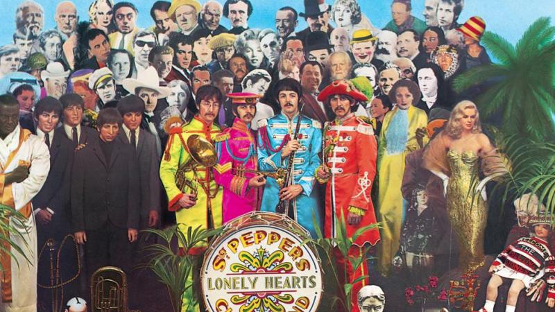 La tapa de Sgt Pepper's