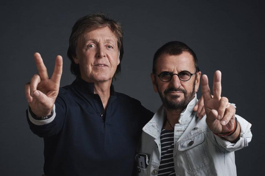 ¿Qué te parece la colaboración de Ringo y Paul para un cover de John?