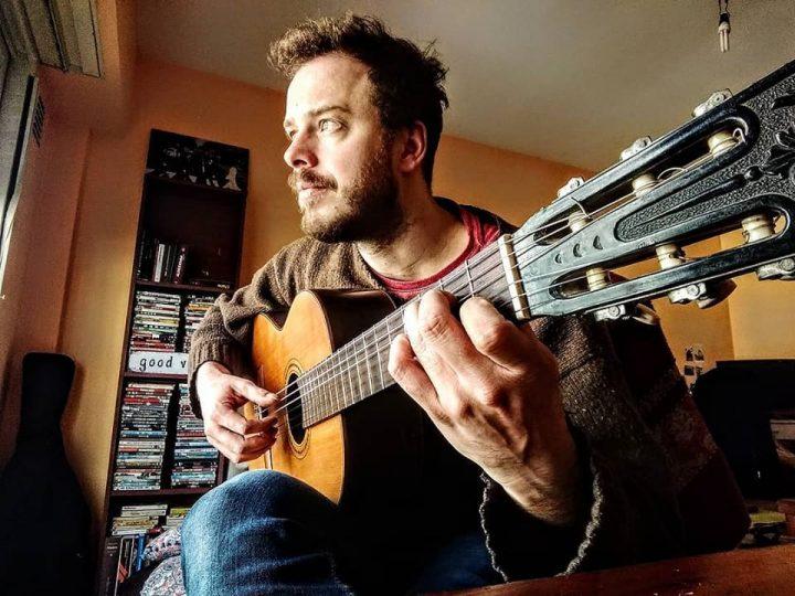 Diego Marchionatti presenta su tercer disco solista