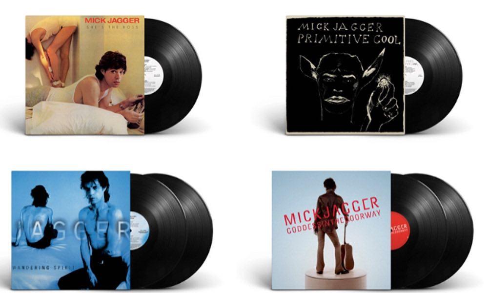 Editan en vinilo la discografía solista de Jagger