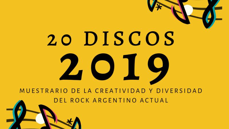 20 discos del 2019