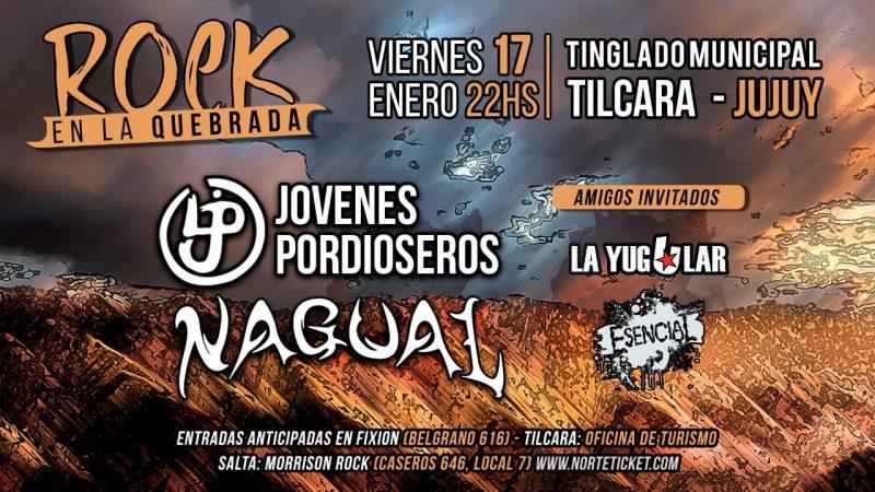 El rock llega a La Quebrada